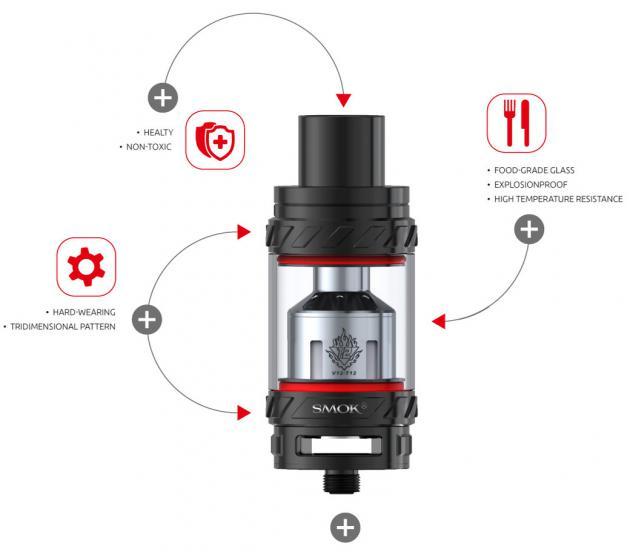 Купить клиромайзер Smok TFV12