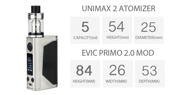 Купить мод Joyetech eVic Primo 2.0 + Unimax