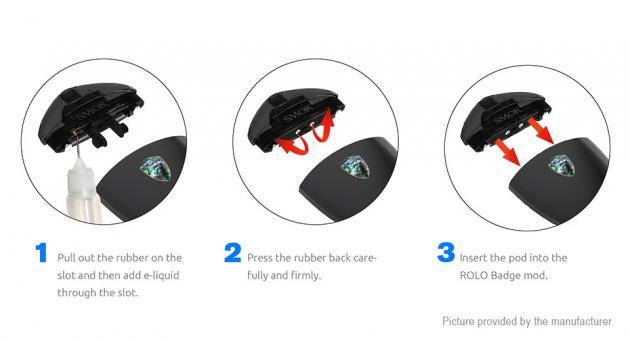 Купить POD систему SMOK Rolo Badge