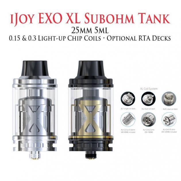Купить клиромайзер iJoy EXO XL TANK