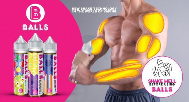 Купить жидкость BALLS для электронных сигарет